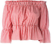 Dondup checked blouse - women - Cotton - 44