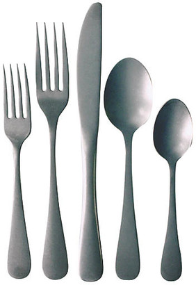 5-Pc Woodstock Place Setting - Silver - Farmhouse Pottery