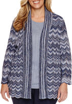 Alfred Dunner Cardigan - Plus
