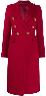 Tagliatore Caletha double-breasted coat