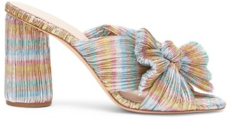 Loeffler Randall Penny Knotted Stripe Mules