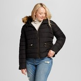 Mossimo Women's Plus Size Cropped Puffer