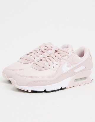 Nike 90 sneakers in soft pink