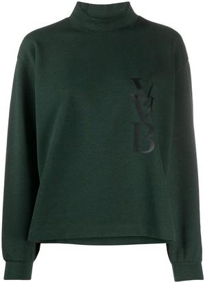 Victoria Victoria Beckham Mock Neck Sweatshirt