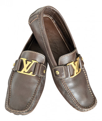 Louis Vuitton Monte Carlo Brown Leather Flats