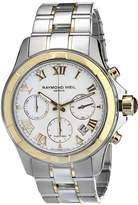 Raymond Weil Men's 7260-SG-00308 Chronograph Automatic Watch