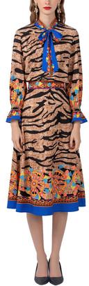 BURRYCO 2Pc Blouse & Skirt Set