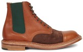 Grenson Quatre Brown Leather Boots