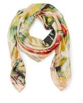 Vince Camuto Watered Blooms-print Scarf