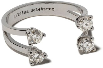 Delfina Delettrez Dots diamond ring