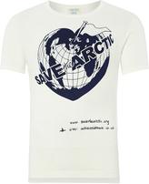 Vivienne Westwood Arctic T-Shirt In Natural Size XXL