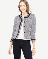 Ann Taylor Petite Mixed Tweed Jacket
