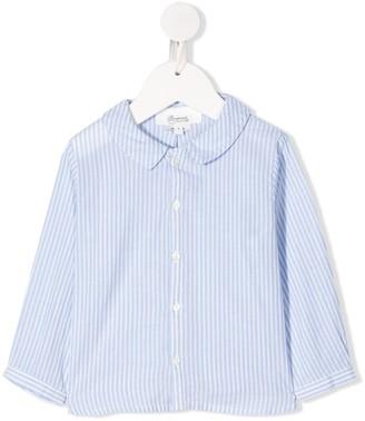 Bonpoint Peter Pan collar striped shirt