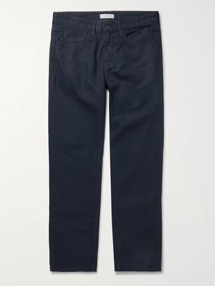 SAVE KHAKI UNITED Standard Slim-Fit Cotton-Canvas Trousers