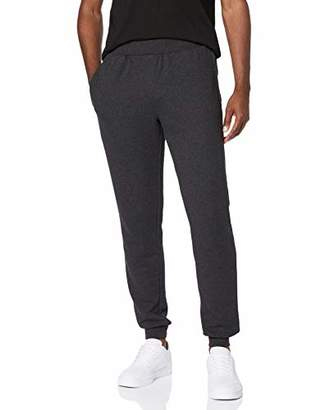 Puma CARE OF by Men's Fleece Lined Cuffed Joggers, (Black), 38 (Size:)