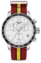 Tissot Miami Heat Quickster Stainless Steel Chronograph, 42mm