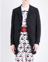 Comme des Garcons Double layered woven coat