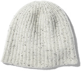 Alex Mill Cashmere Donegal Beanie in Silver Donegal