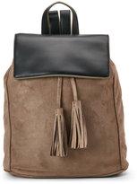 Deux Lux Grey & Black Cortina Backpack