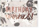 Oliver Bonas OB Birthday Wishes Card