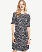 Ann Taylor Textured Knit Dress