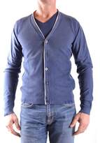 Fred Mello Men's Blue Cotton Cardigan.