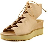 Andre Assous Tamsin Women Us 7 Pink Wedge Sandal.