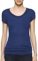 Calvin Klein Jersey Knit Chain Embellished T-Shirt