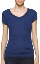 Calvin Klein Solid Scoopneck T-Shirt