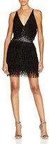 Dress the Population Alexis Sequin Fringe Dress