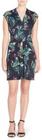 Catherine Malandrino Women's Tinka Floral Print Fit & Flare Dress