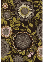 Amy Butler Lacework Rug in Pink