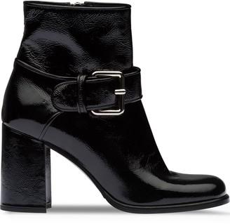 Miu Miu Patent Leather Booties