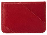 Diane von Furstenberg Leather Tuxedo Card Case