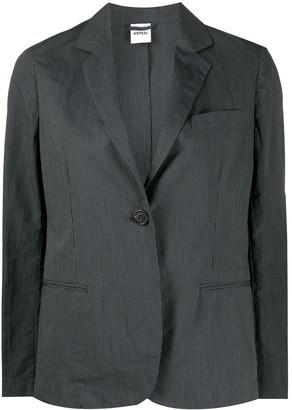 Aspesi Boxy Fit Striped Pattern Blazer