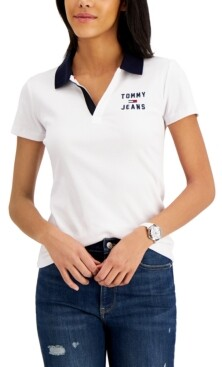 Tommy Jeans Logo Polo Shirt