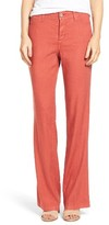 NYDJ Petite Women's Wylie Five-Pocket Linen Trousers