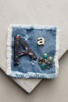 Anthropologie Initial Pin Trio