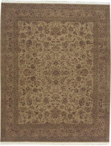 """Nourison Closeout! Royalty RO30 Beige 7'9"""" x 9'9"""" Hand-Knotted Rug"""