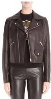 Loewe Women's Leather Moto Jacket