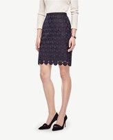 Ann Taylor Circle Lace Skirt