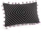Jessica Simpson Asana Oblong Throw Pillow in Black