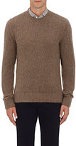 Ralph Lauren Purple Label Men's Cashmere Crewneck Sweater-BROWN