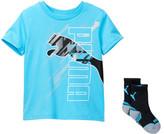 Puma Graphic Tee & Sock 2-Piece Set (Little Boys)