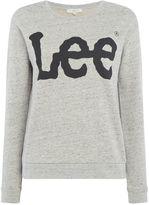 Lee Sweatshirt With Large Logo