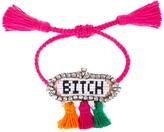 Shourouk Hippie Bitch Bracelet