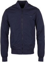Fred Perry Midnight Blue Tramline Tipped Bomber Jacket