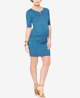 Rachel Zoe Maternity Zip-Front Sheath Dress