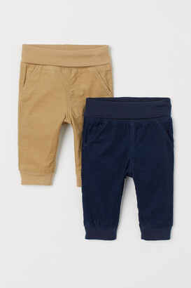 H&M 2-pack Lined Pull-on Pants