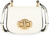 Prada Pattina Saffiano Leather Crossbody Saddle Bag